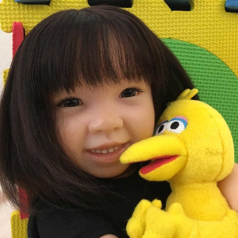 Lifelike Reborn Child Doll Freckles By Pat Secrist