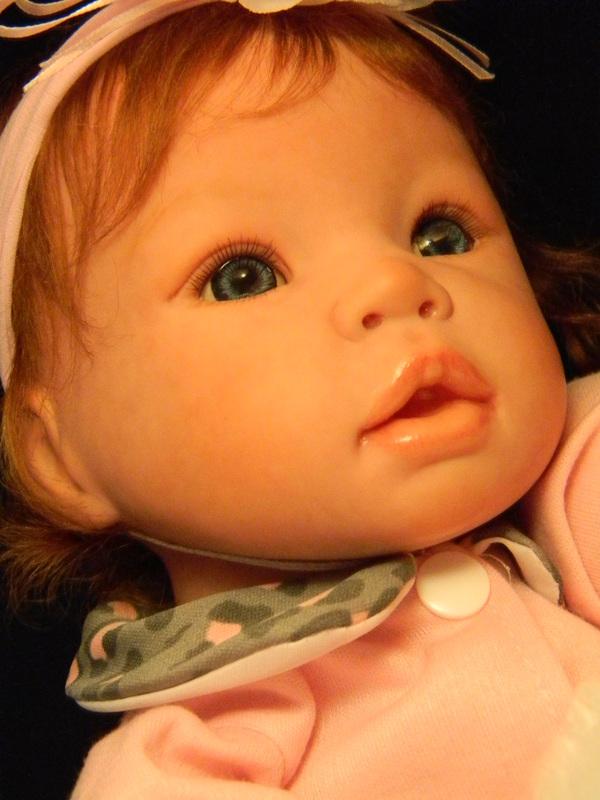 Lifelike Reborn Baby Doll Allie Play Doll Custom Doll Baby