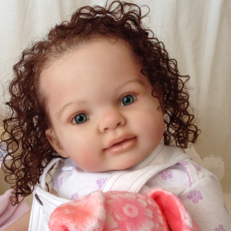 Lifelike Reborn Doll Kitten By Donna Rubert Custom
