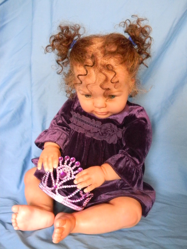 Lifelike Reborn Kitten Zari Custom Doll Baby