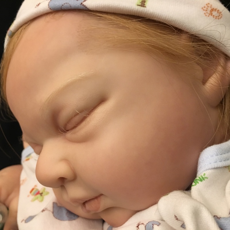 edec298424f1bf Lifelike Memorial Baby Doll - Easton by Michelle Fagan - Custom Doll Baby